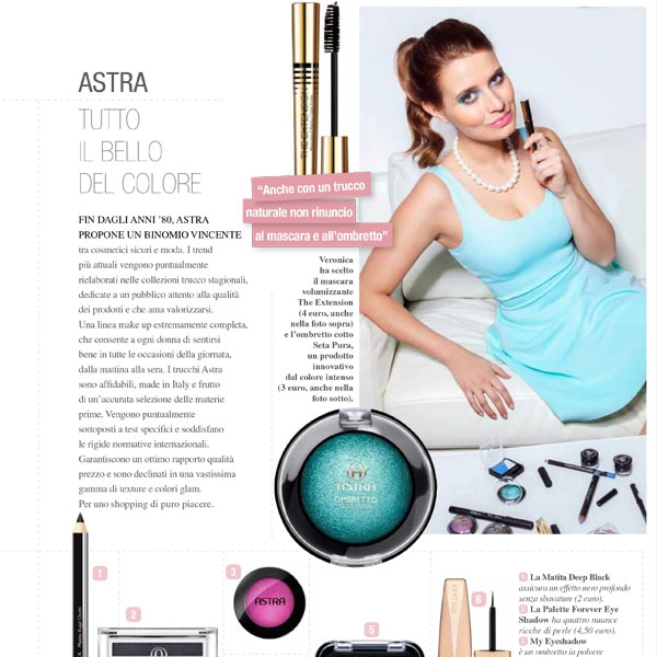 Astra make up - Cairo editore - 2013