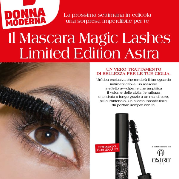 Astra make up - Donna Moderna 2012